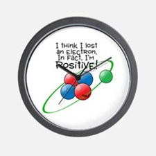 I'm Positive Wall Clock