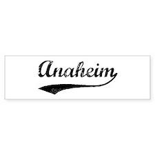 Anaheim - Vintage Bumper Bumper Sticker