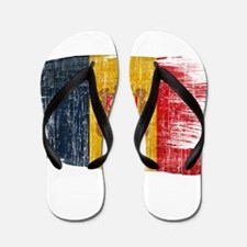Andorra Flag Flip Flops