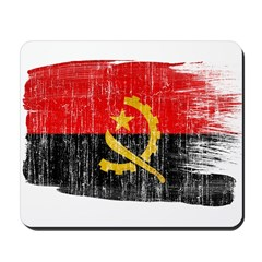 Angola Flag Mousepad