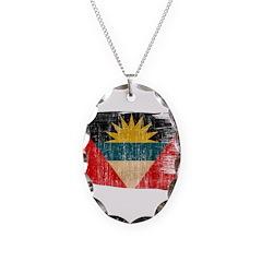 Antigua and Barbuda Flag Necklace