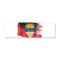 Antigua and Barbuda Flag Car Magnet 10 x 3