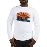 Arizona state flag Long Sleeve T-shirts
