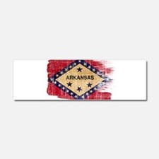 Arkansas Flag Car Magnet 10 x 3