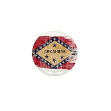 Arkansas Flag Mini Button