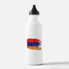 Armenia Flag Water Bottle