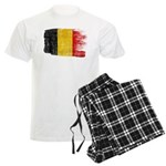 Belgium Flag Men's Light Pajamas