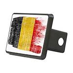 Belgium Flag Rectangular Hitch Cover