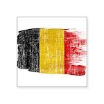 Belgium Flag Square Sticker 3