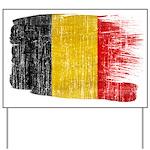 Belgium Flag Yard Sign