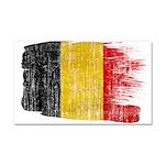 Belgium Flag Car Magnet 20 x 12