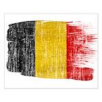 Belgium Flag Small Poster
