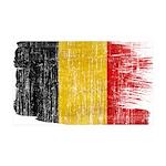 Belgium Flag 38.5 x 24.5 Wall Peel