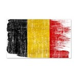 Belgium Flag 22x14 Wall Peel