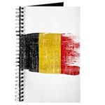 Belgium Flag Journal