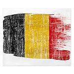 Belgium Flag King Duvet