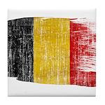 Belgium Flag Tile Coaster