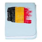 Belgium Flag baby blanket
