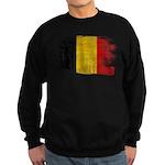 Belgium Flag Sweatshirt (dark)