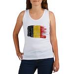 Belgium Flag Women's Tank Top