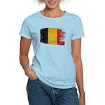 Belgium Flag Women's Light T-Shirt