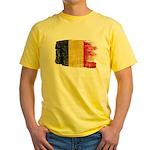 Belgium Flag Yellow T-Shirt