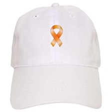 Orange Ribbon Baseball Cap