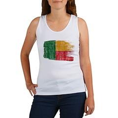 Benin Flag Women's Tank Top