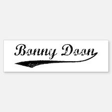 Bonny Doon - Vintage Bumper Bumper Bumper Sticker