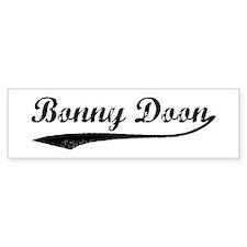 Bonny Doon - Vintage Bumper Bumper Sticker