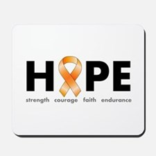 Orange Ribbon Hope Products.png Mousepad