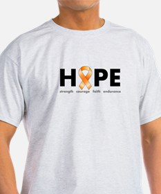 Orange Ribbon Hope Clothing T-Shirt