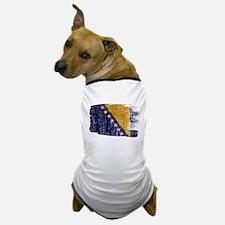 Bosnia and Herzegovina Flag Dog T-Shirt