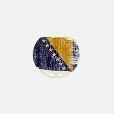 Bosnia and Herzegovina Flag Mini Button