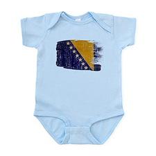 Bosnia and Herzegovina Flag Infant Bodysuit