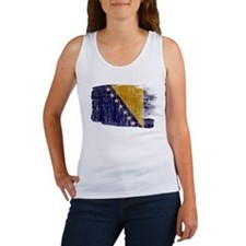 Bosnia and Herzegovina Flag Women's Tank Top