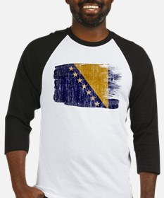 Bosnia and Herzegovina Flag Baseball Jersey