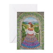 Gypsy Wine Greeting Card