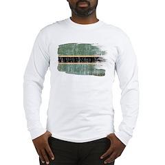 Botswana Flag Long Sleeve T-Shirt