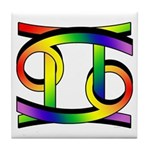 Cancer & Gemini GLBT Tile