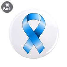 "Blue Ribbon 3.5"" Button (10 pack)"