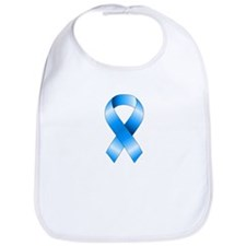 Blue Awareness Ribbon Bib
