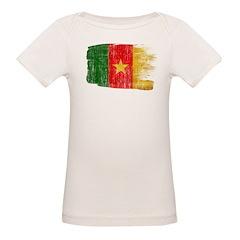 Cameroon Flag Organic Baby T-Shirt