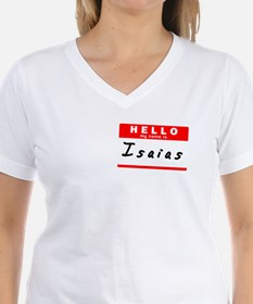 Isaias, Name Tag Sticker Shirt