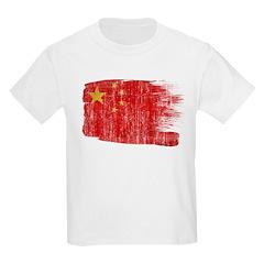 China Flag Kids Light T-Shirt
