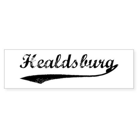Healdsburg - Vintage Bumper Sticker