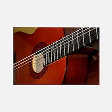 Classic Guitar Rectangle Magnet