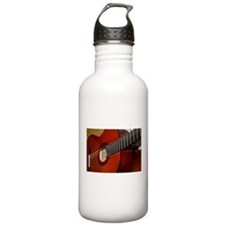 Classic Guitar Water Bottle