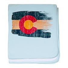 Colorado Flag baby blanket