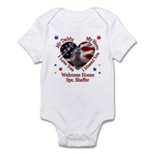 Lindsey's Custom Homecoming Infant Bodysuit